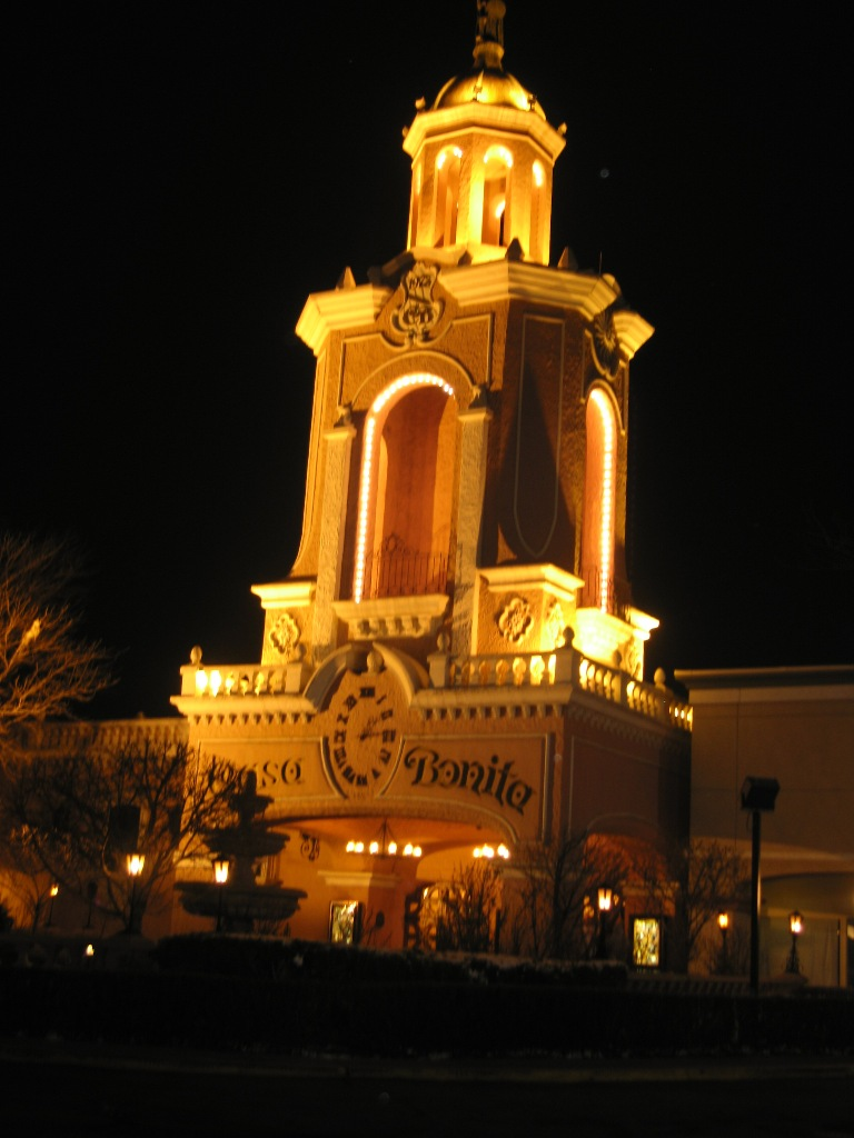 Casa Bonita at Night :: Denver