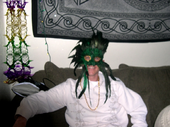 Me And My Mardi Gras Party Mask :: Denver