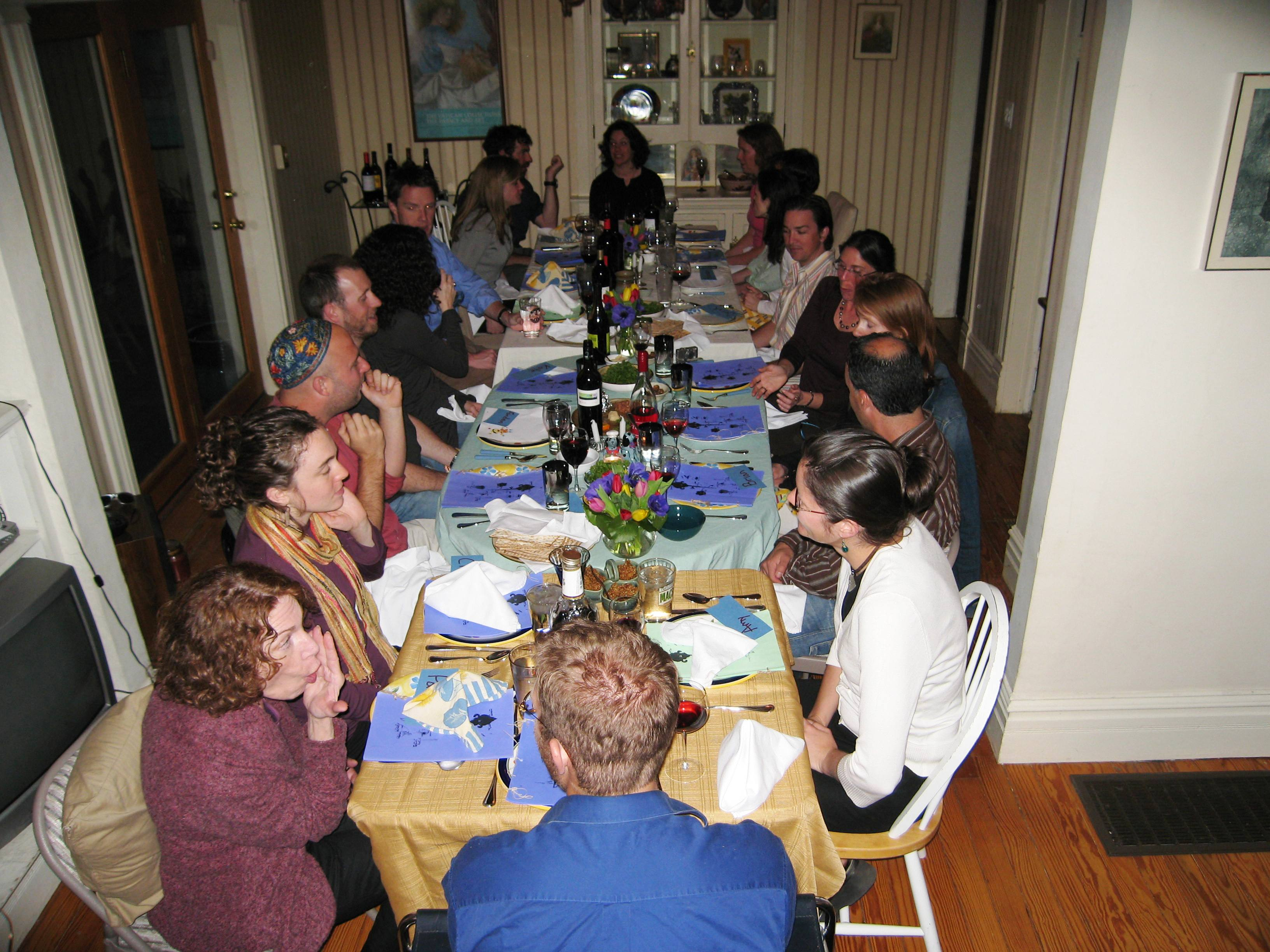 Passover Seder at my house