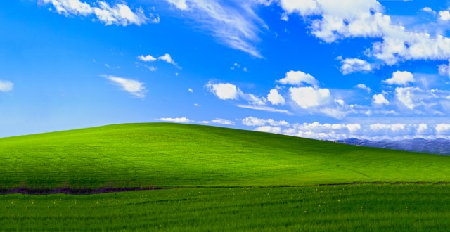 Default Windows XP Wall Paper